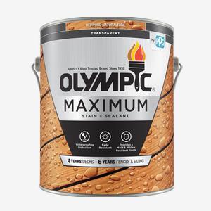 MAXIMUM<sup>®</sup>Stain + Sealant in One Transparent